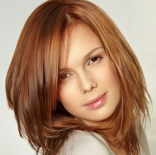 Beautiful medium layered hairstyles for oval faces