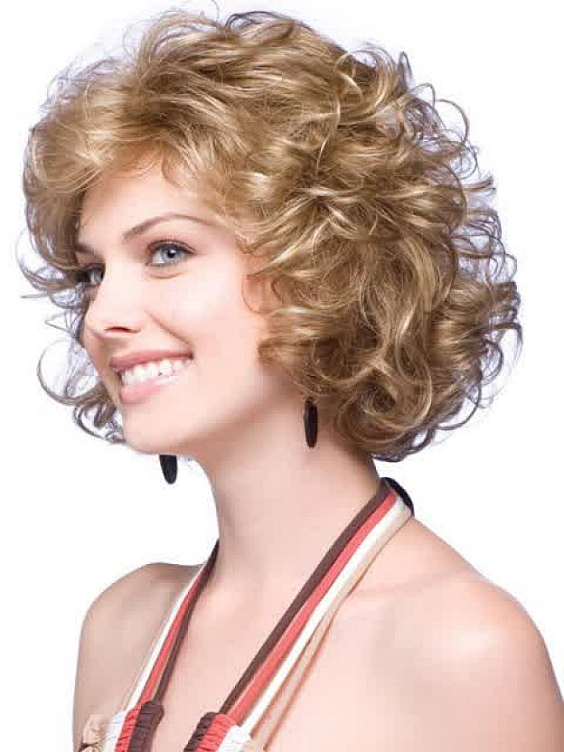 Stunning Cute Short Hairstyles For Curly Hair Pictures - Styles ...
