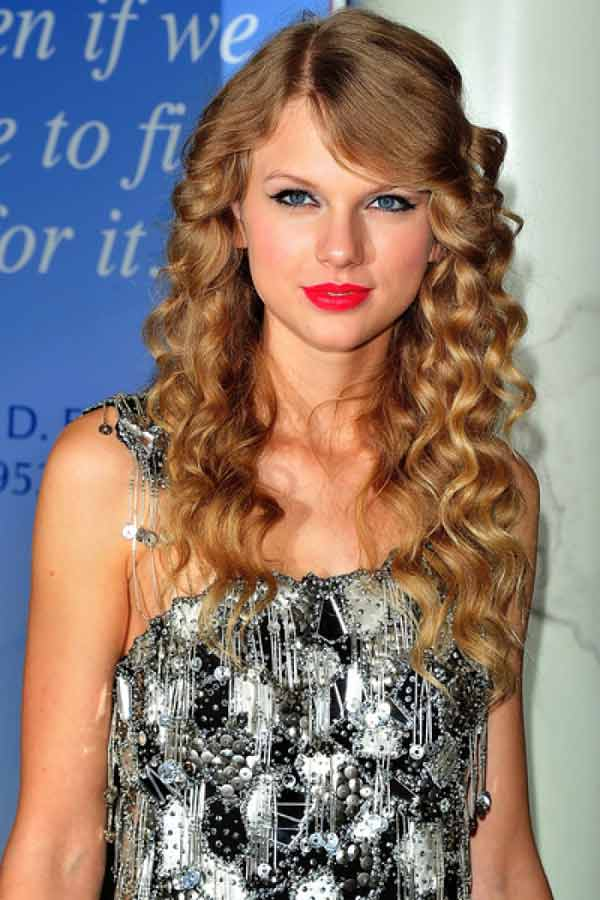 Lovely And Fashionable Hair Styles For Long Curly Hair