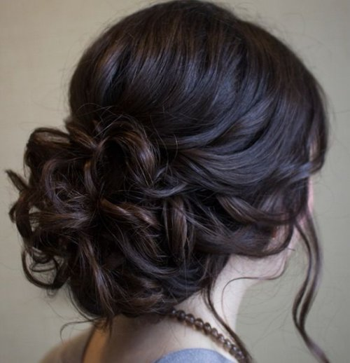 Low Updo Hairstyles