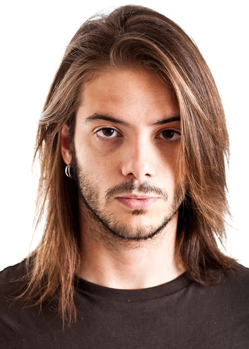 Rock Star Hair Long Style For A Man