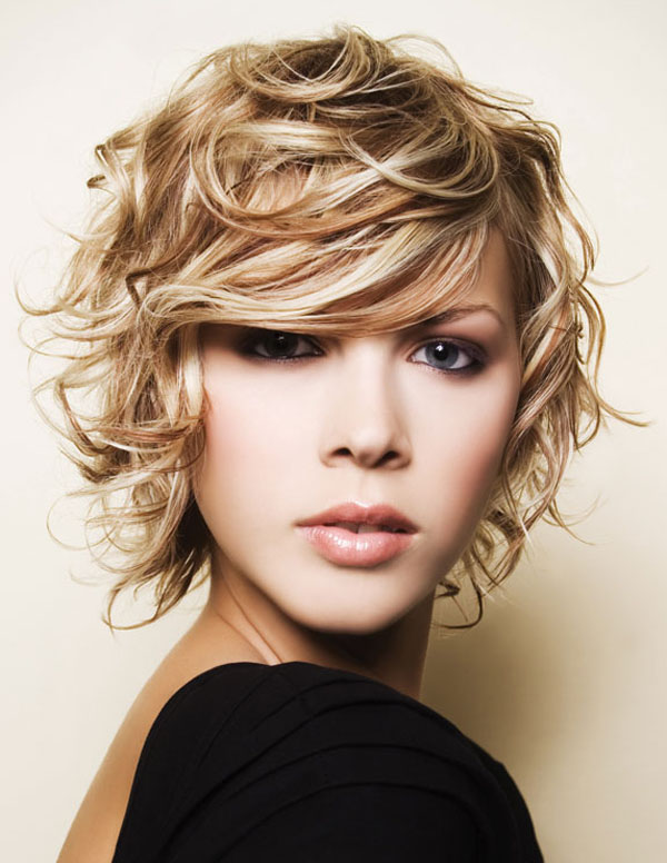 Short Curly Hairstyles..