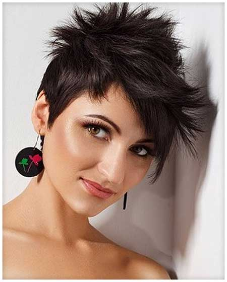 Short Hair Styles For Oval Faces