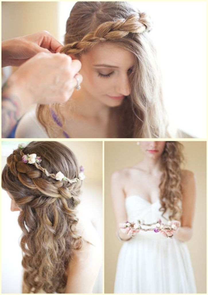 Wedding Hairstyles For Long Hair How To : bridal hairstyles for long curly hair