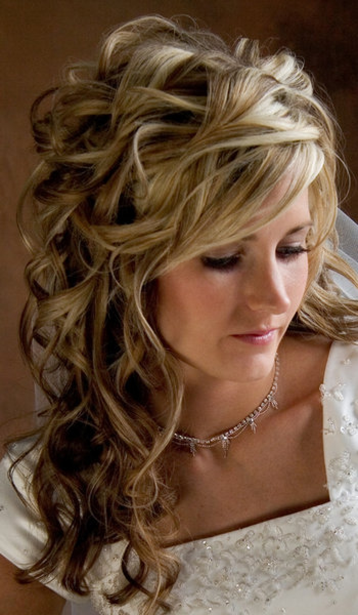 curly wedding hairstyles.