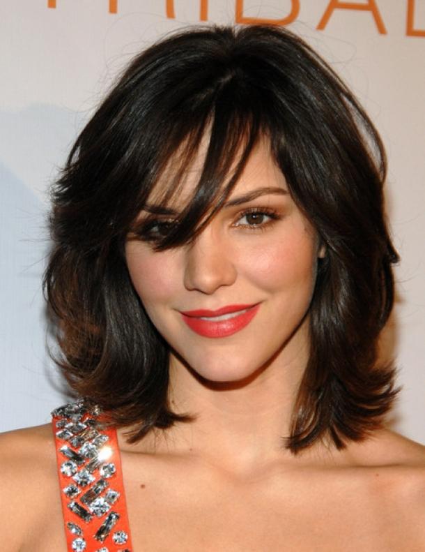 medium layered celebrity hairstyles