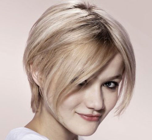 Cute short hairstyles bangs