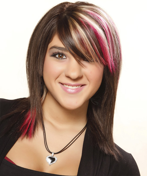Straight-Medium-Hairstyles-with-Color