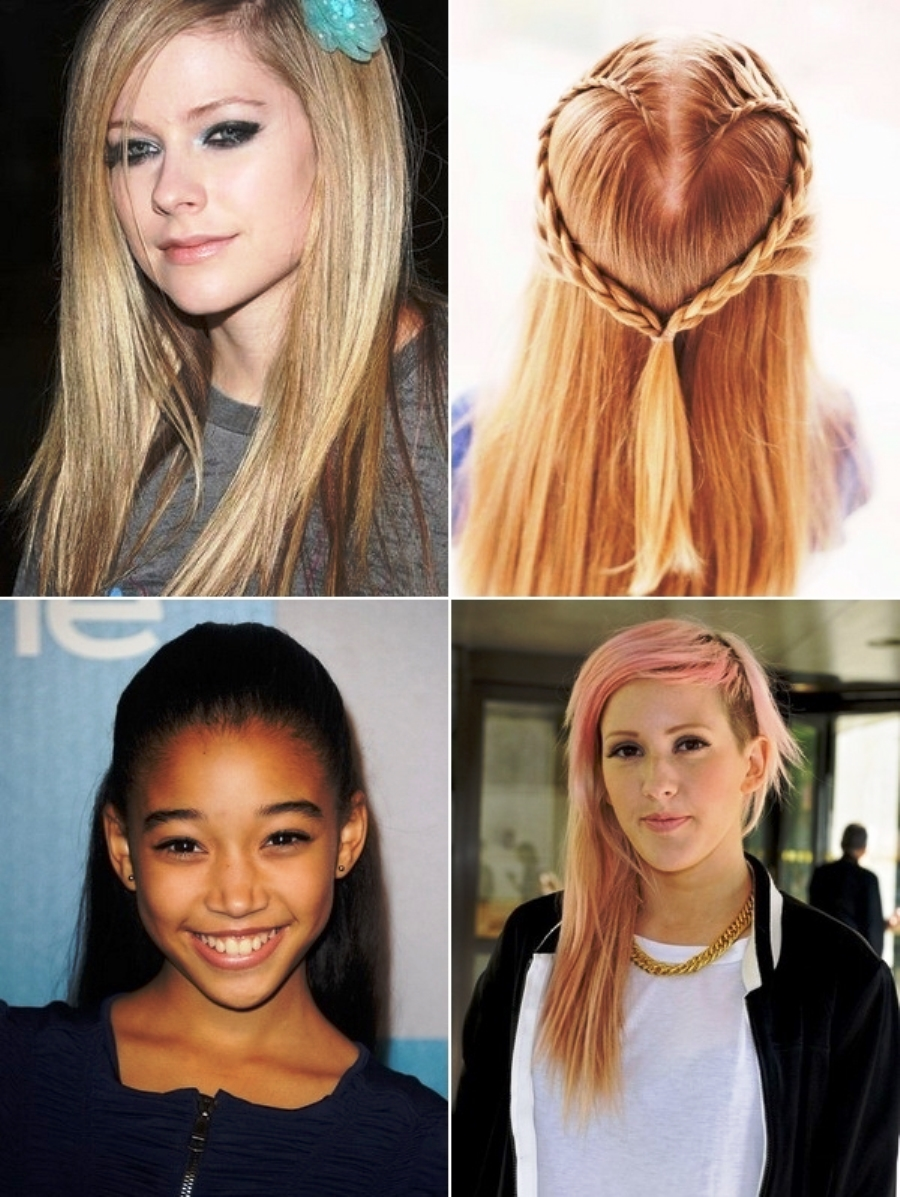 hairstyles for really short hair for school