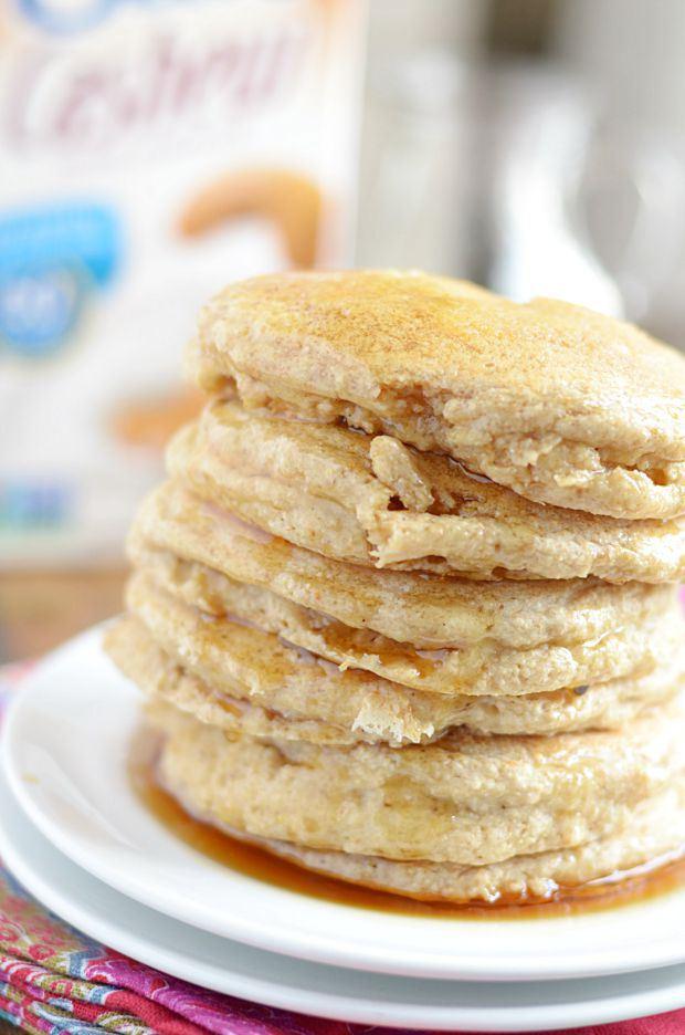 14 Soft & Fluffy Whole Wheat Pancakes