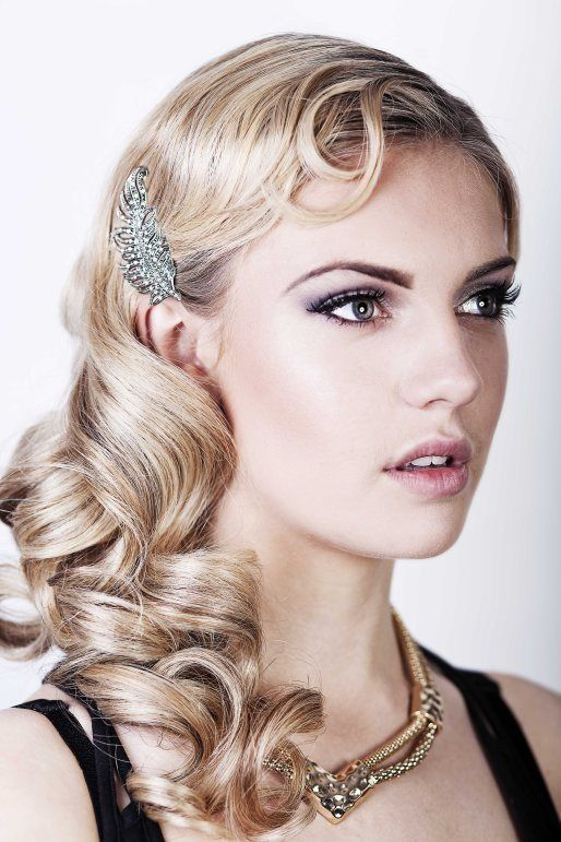 1920's hairstyles for long hair ideas