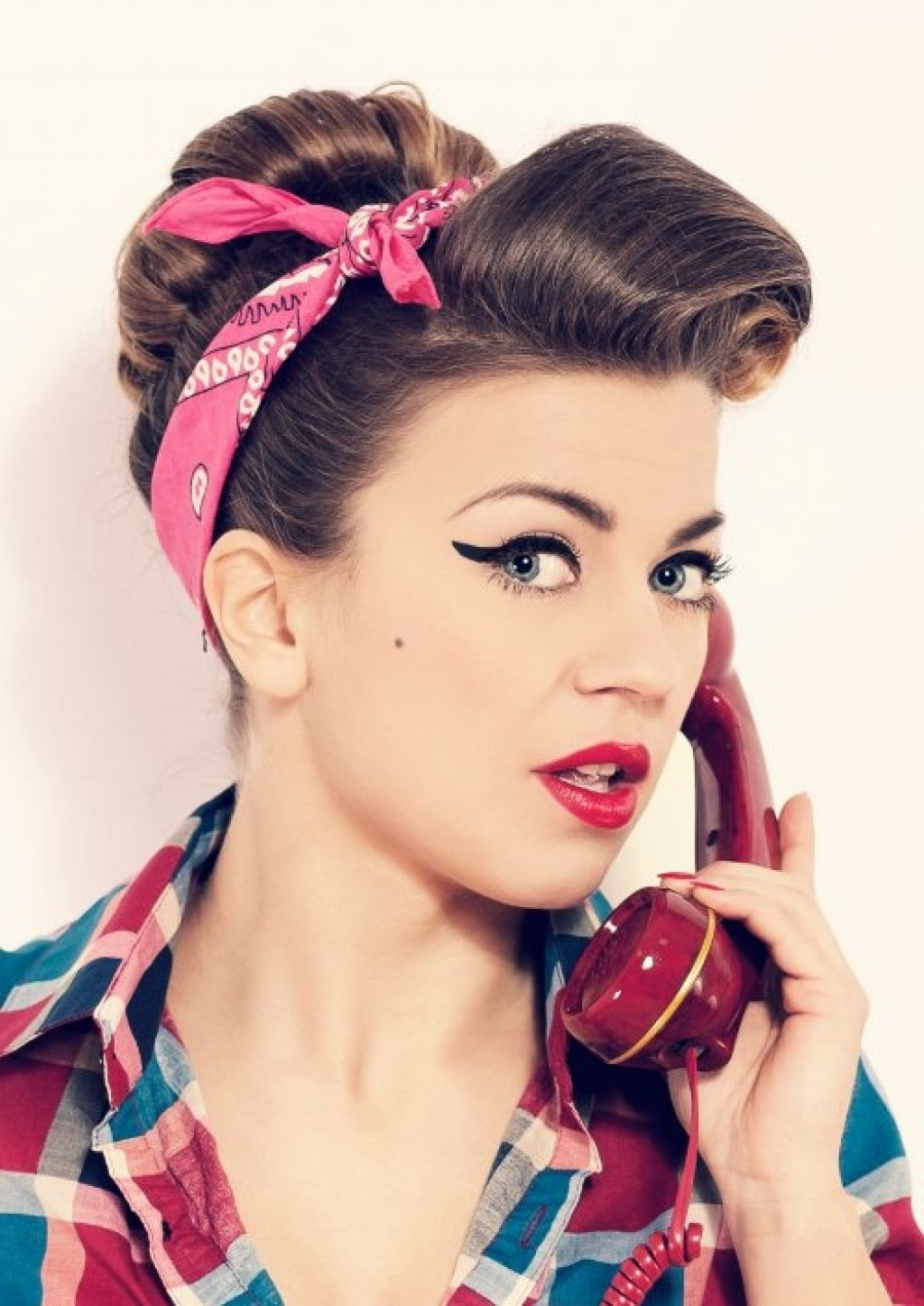 50s hairstyles long hairstyle