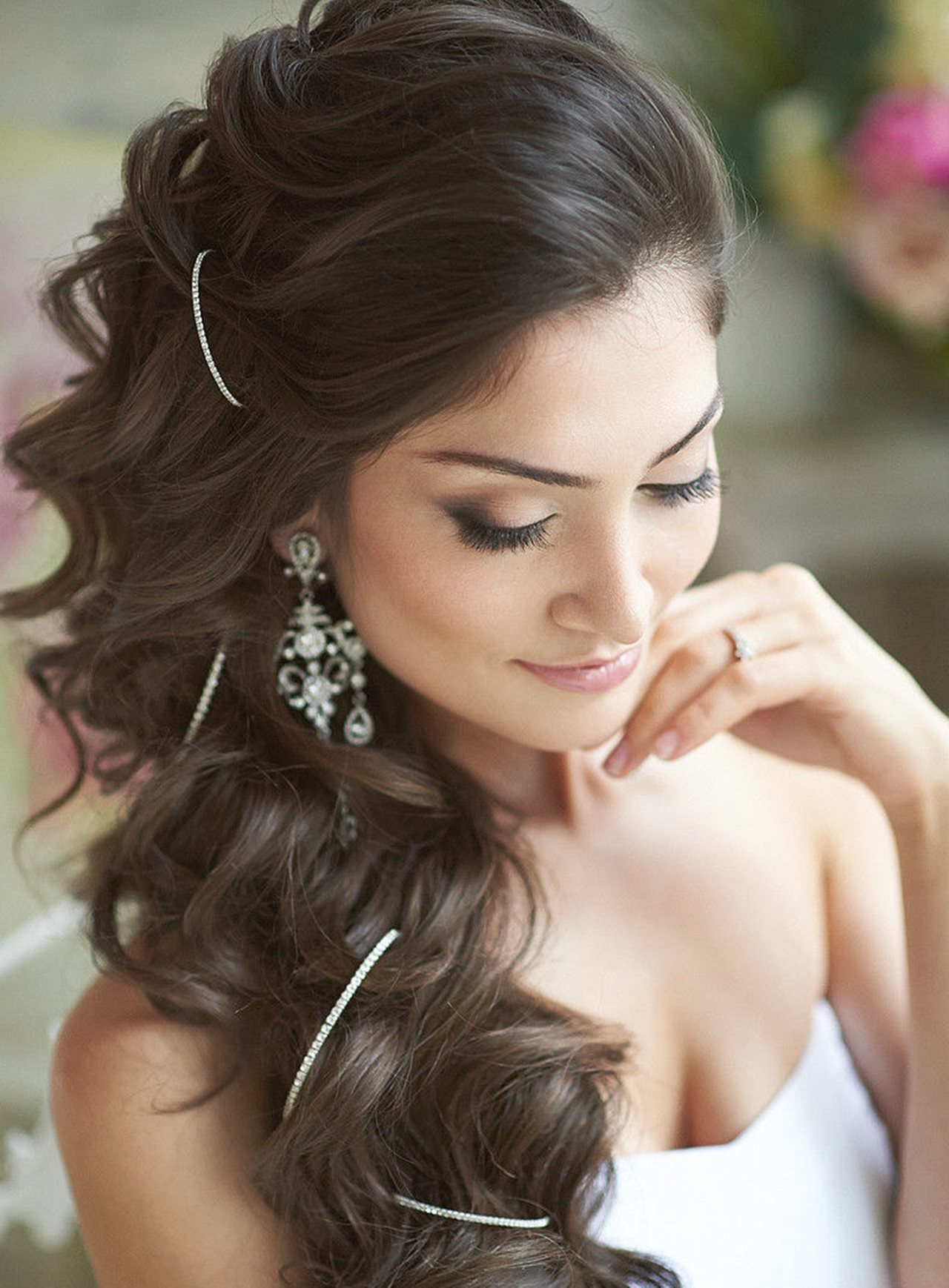 Beautiful Weeding Hairstyle