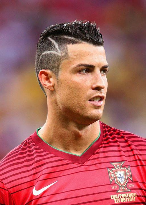 Cristiano Ronaldo Hairstyle World Cup 2015