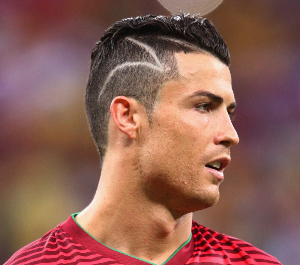 Cristiano Ronaldo Hairstyle Collection The Xerxes - Cr7 hairstyle wallpaper
