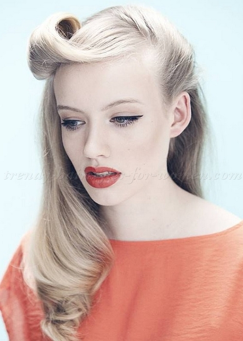 Retro Hairstyles That Are Totally Hot Right Now - The Xerxes
