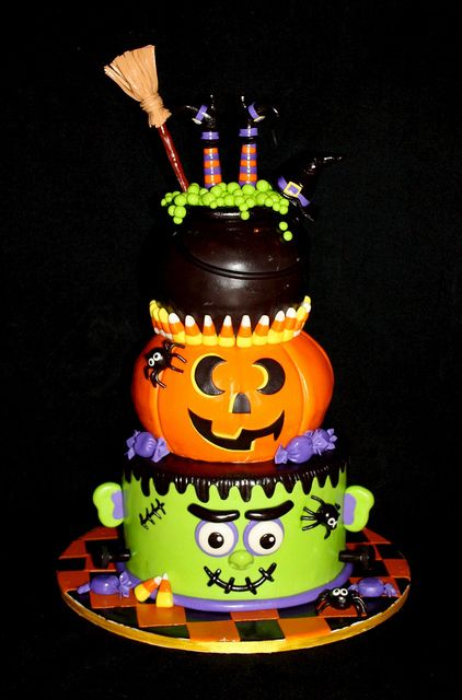 Scary Birthday Cake Ideas