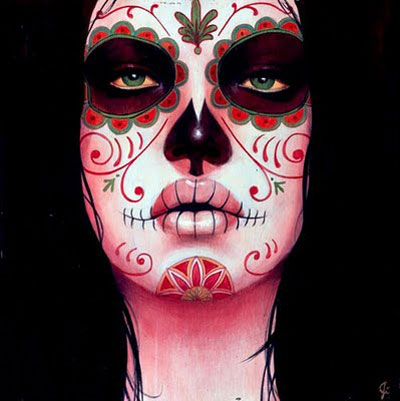 Halloween Skull Face Paint Ideas
