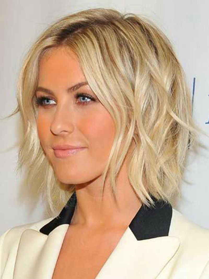 Short Hairstyles For Fine Wavy Hair..