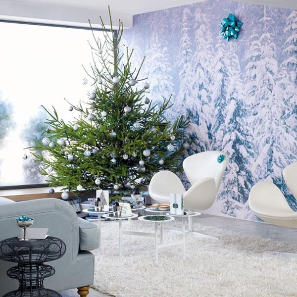 Minimalist Christmas Decor Ideas (19)