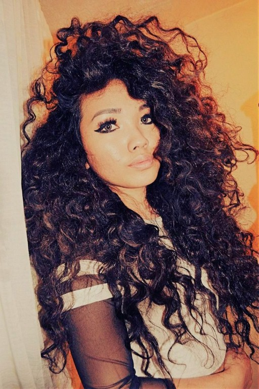 15+ Incredibly Cute Styles For Naturally Curly Hair - The ...