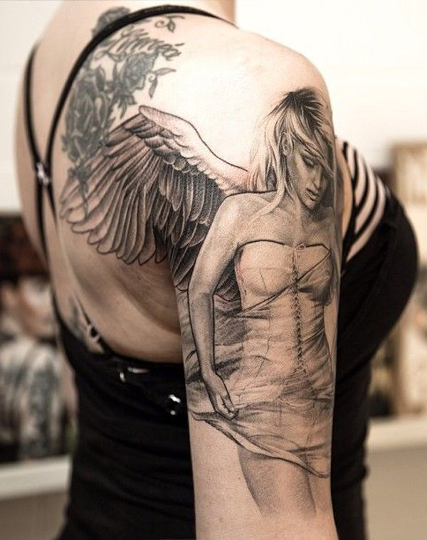 Angel Tattoos & Tattoo Designs