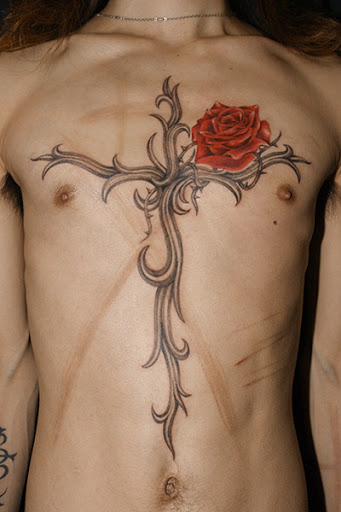 Cross Tattoo Designs Ideas (48)