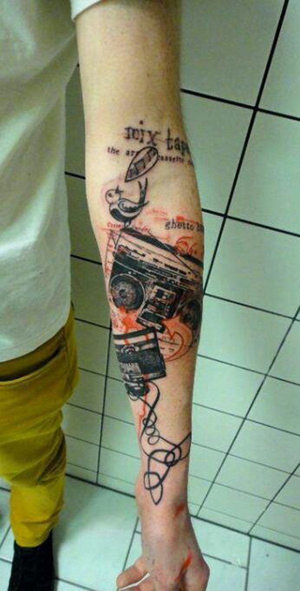 Music Tattoos for Men