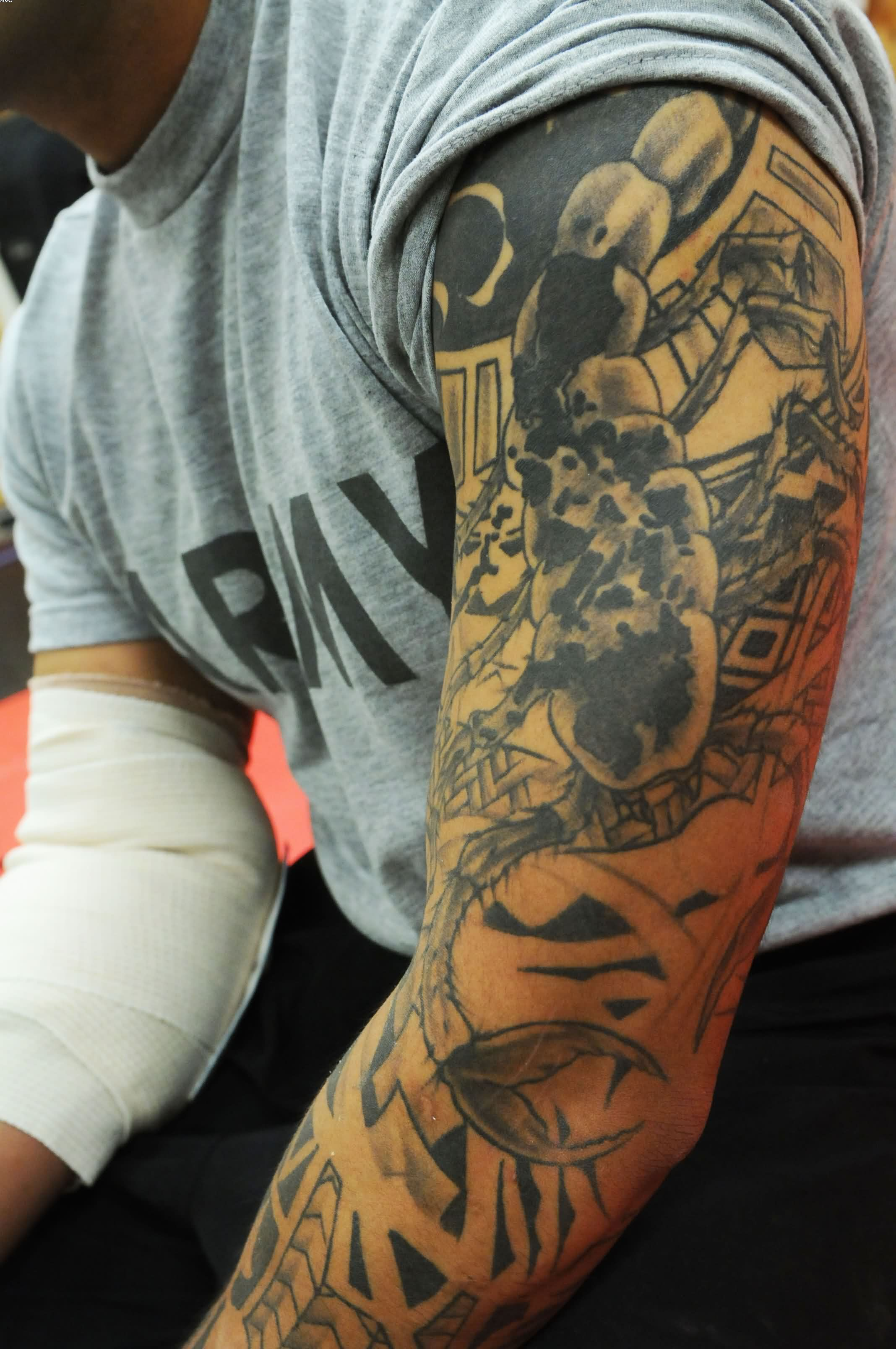 Sleeve Tattoo Design (10)