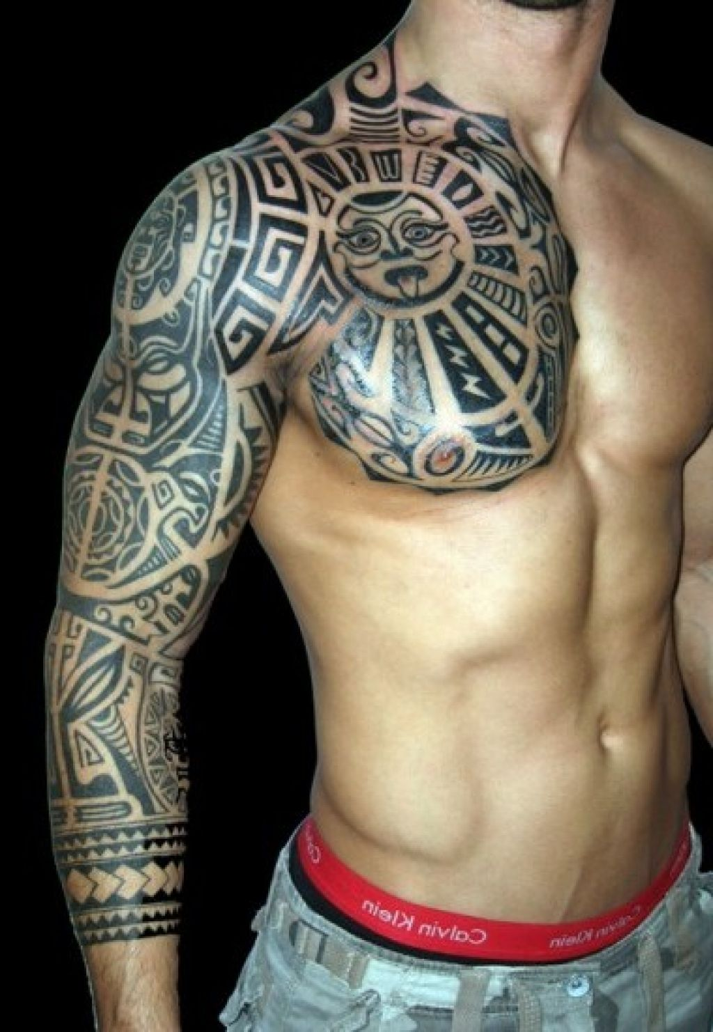 Sleeve Tattoo Image: Awesome Sleeve Tattoo Design Ideas
