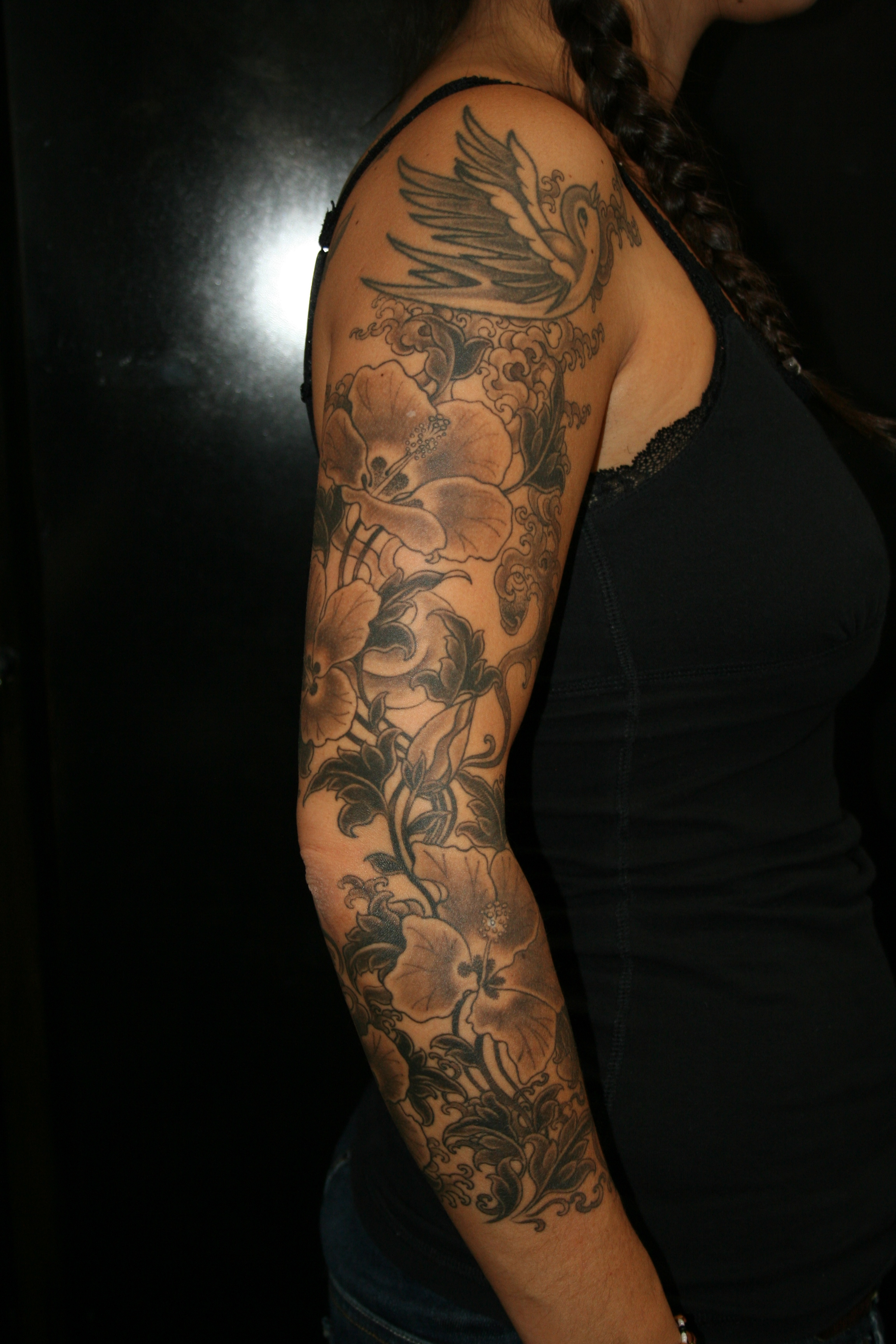 awesome sleeve tattoo design ideas - the xerxes