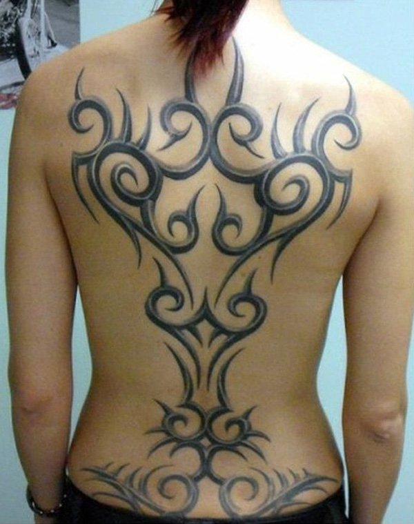 full-back-tribal-tattoo