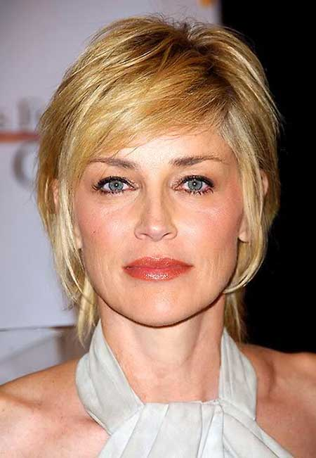 Short Hairstyle for Women Over 50 images