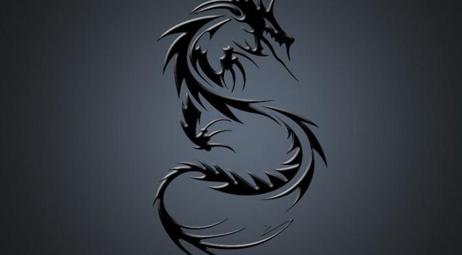 Tribal Dragon Tattoo ideas