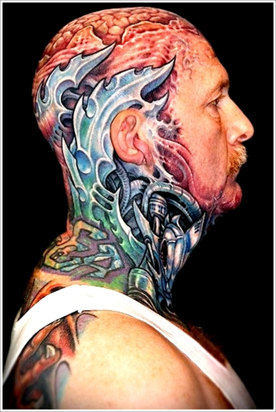 Mechanical Tattoo Designs