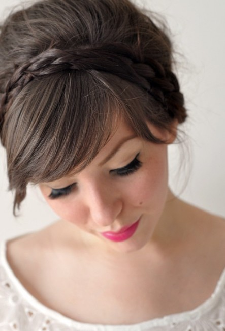 Prom Hairstyles with Bangs Prom Hairstyles 2015