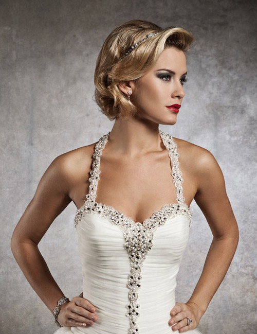 Short Hairstyles for Weddings with Hair