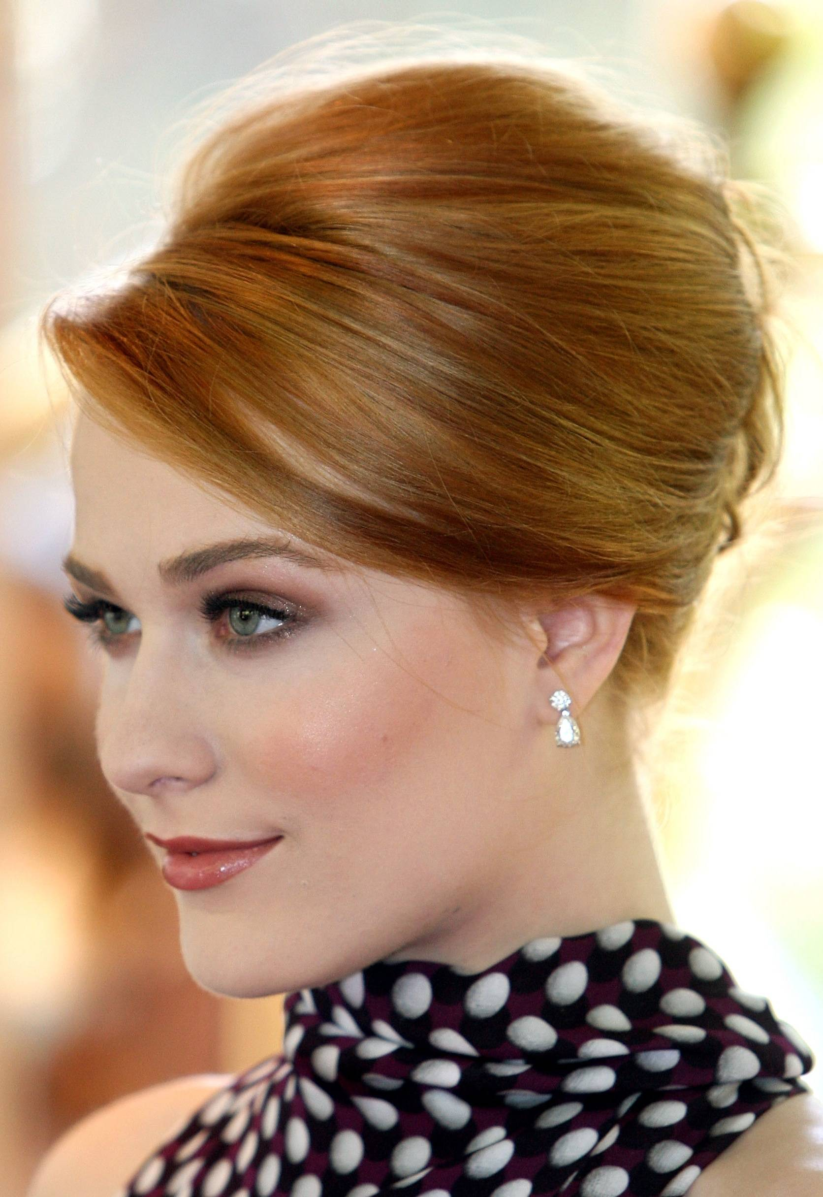 25 prom hairstyles for short hair the xerxes beverly hills ca august 11 actress evan rachel wood arrives at the hollywood superb short hairstyles pmusecretfo Choice Image
