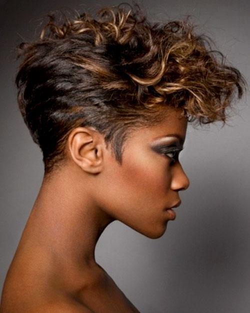 Short Wavy Hairstyles Black Women