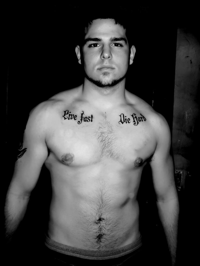 Small Chest Tattoos Men