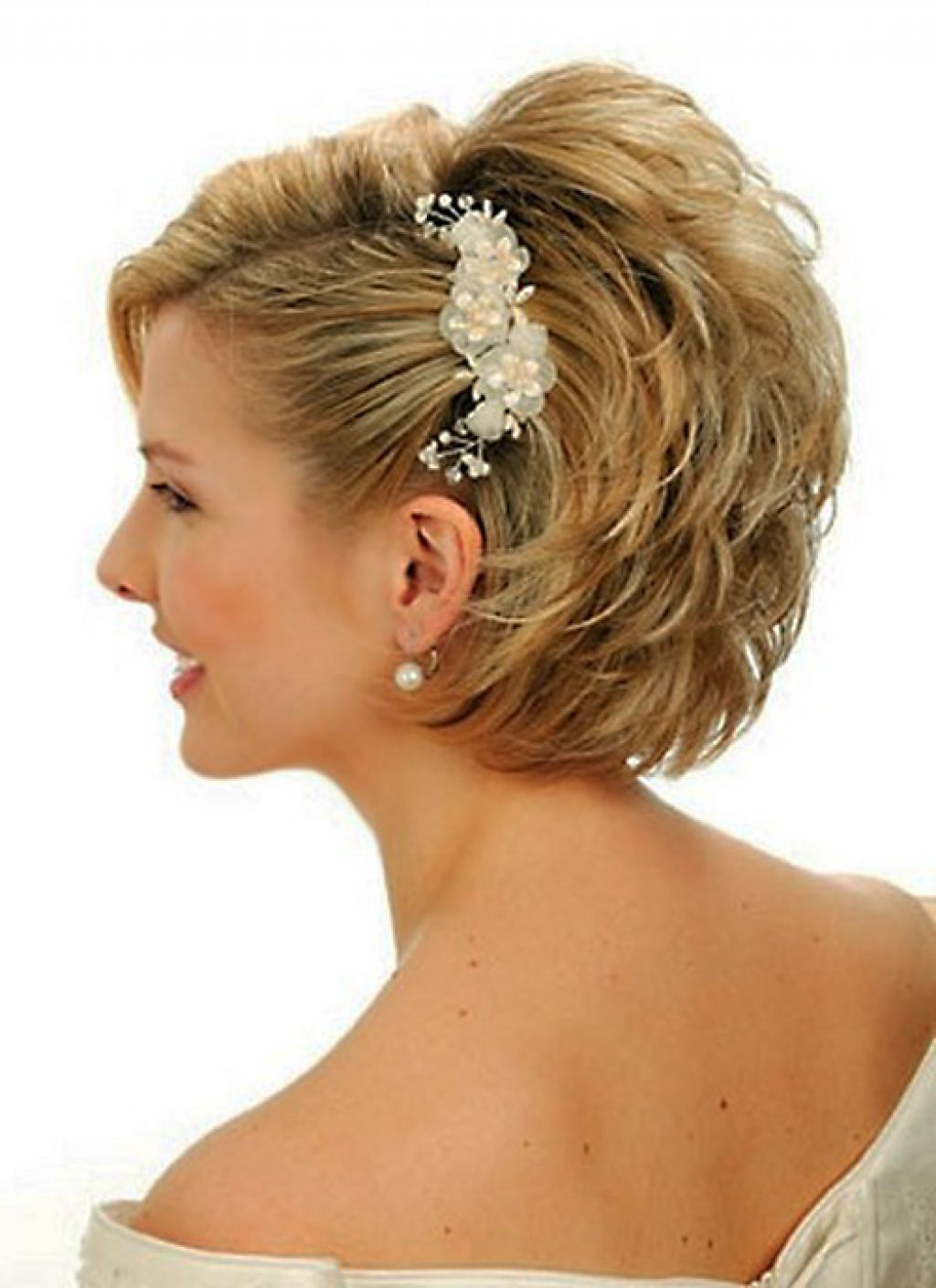 25 Most Favorite Wedding Hairstyles For Short Hair The Xerxes