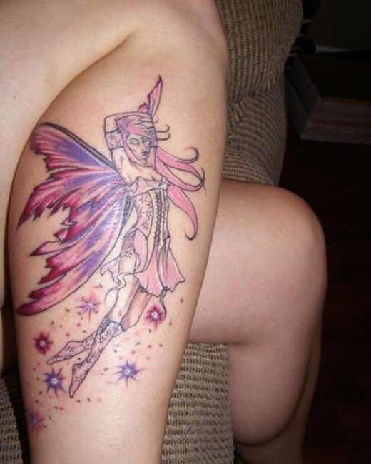 Beautiful Fairy Tattoo Ideas Gallery