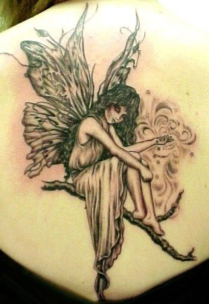 Dark Angel Fairy Tattoo Designs