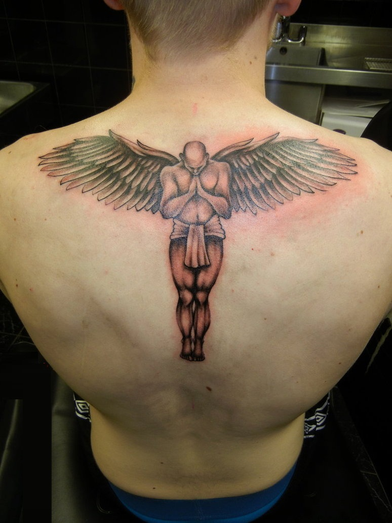 Guardian Angel Tattoo pics