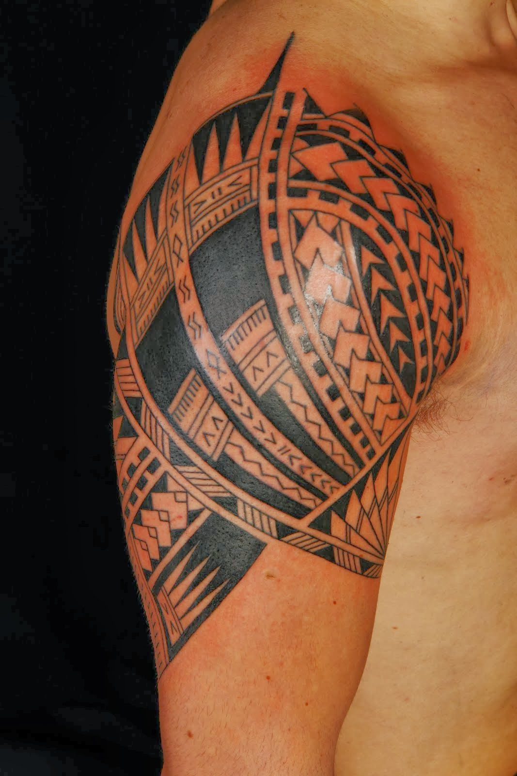 Hawaiian Tribal Tattoo with Meanings