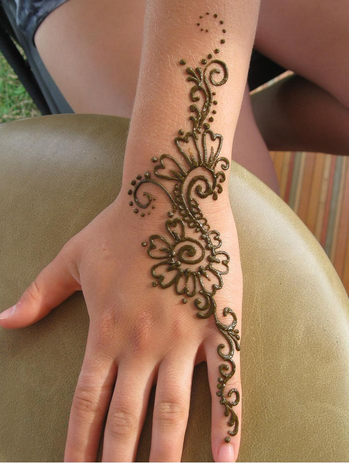 Henna Tattoo Hand Leicht Klein: 25 Henna Tattoo Design And Placement Ideas