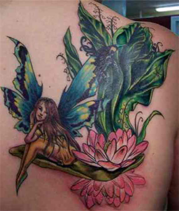 Juicy and Hot Fairy Tattoos for Girls..