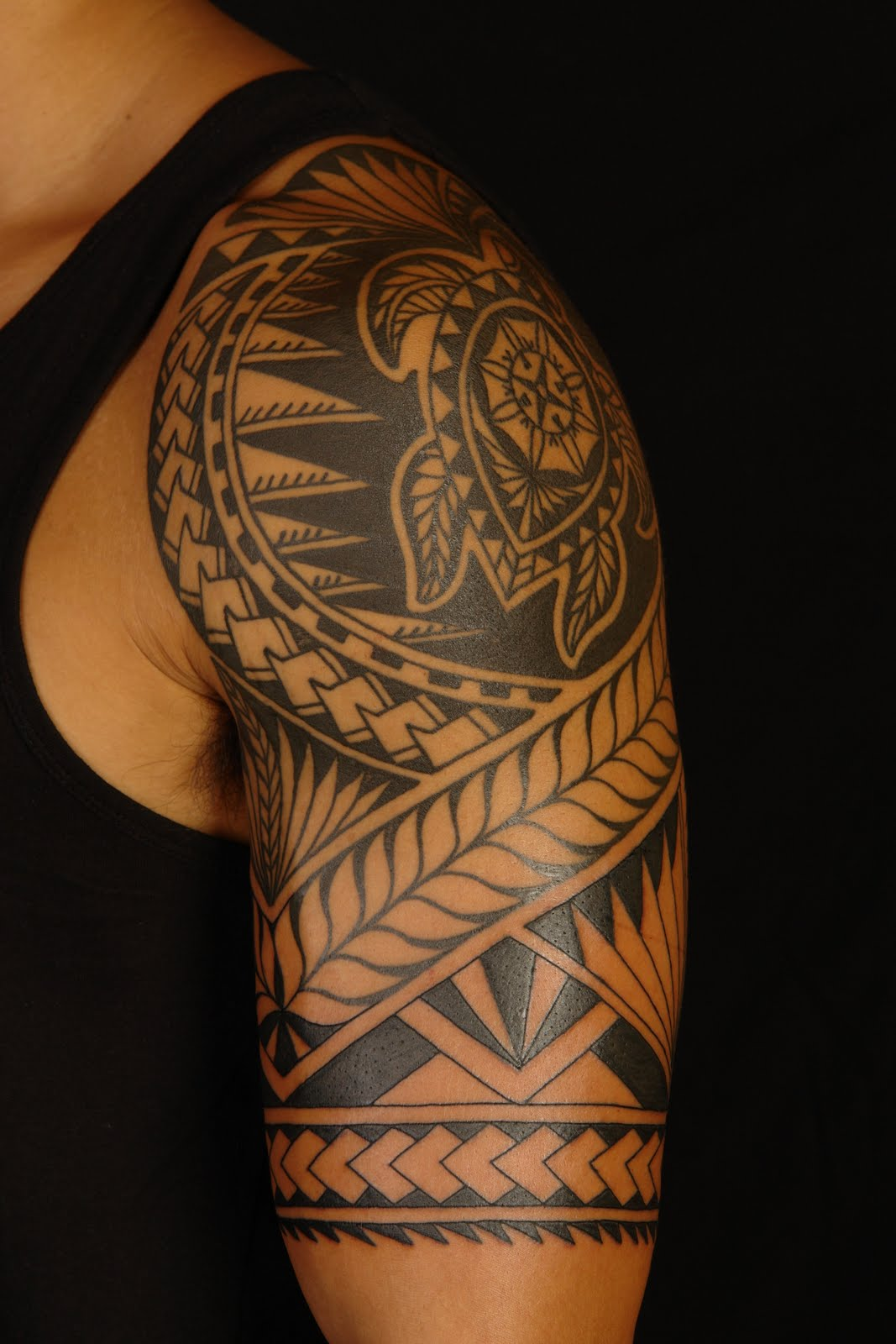 Polynesian Arm Tattoo Designs