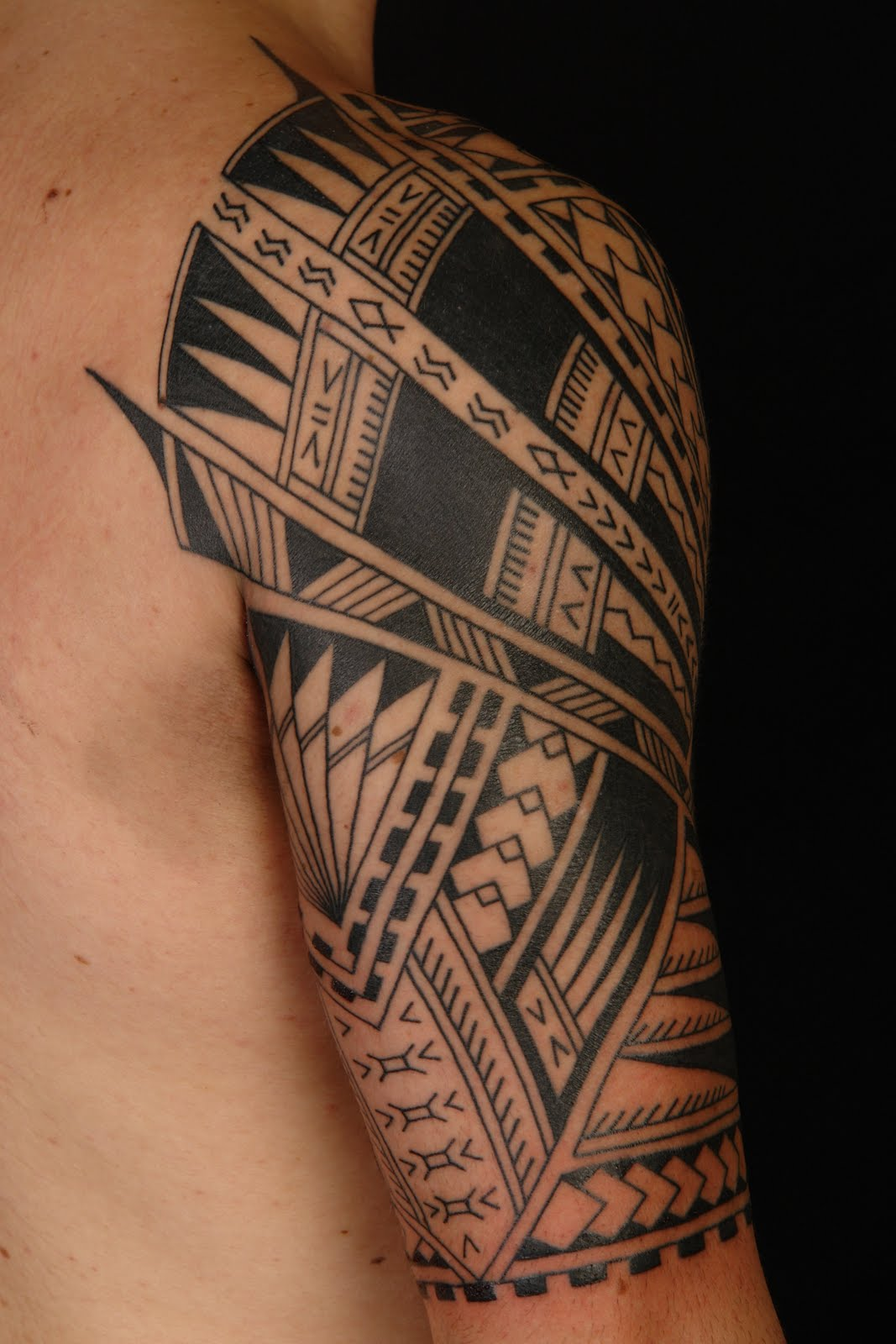 Samoan Half Sleeve Tattoo Designs