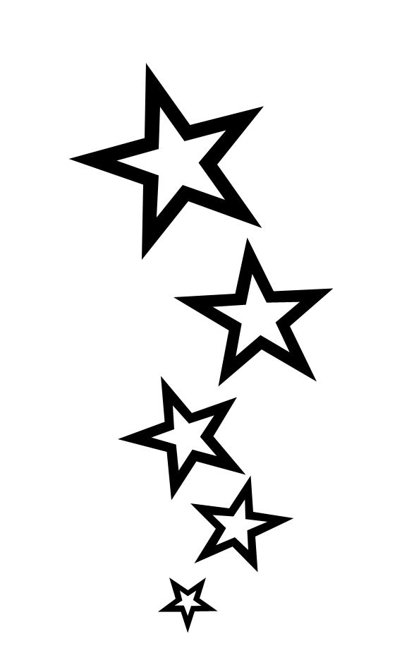 Star Tattoos On Wrist Design